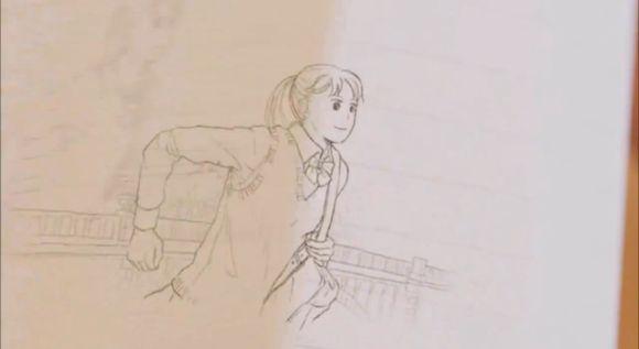 河合塾パラパラ漫画