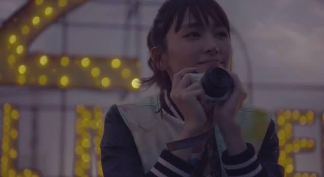 新垣結衣×キャノン「EOS M2」ETERNAL MOMENT雨篇