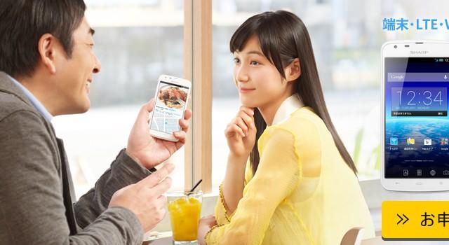 BIGLOBE「LTE 3G」「Wi-Fi ほぼスマホ」
