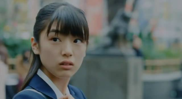 田中明、松本花奈 ソフトバンクのCMに出演する女子高生役の女の子が ...