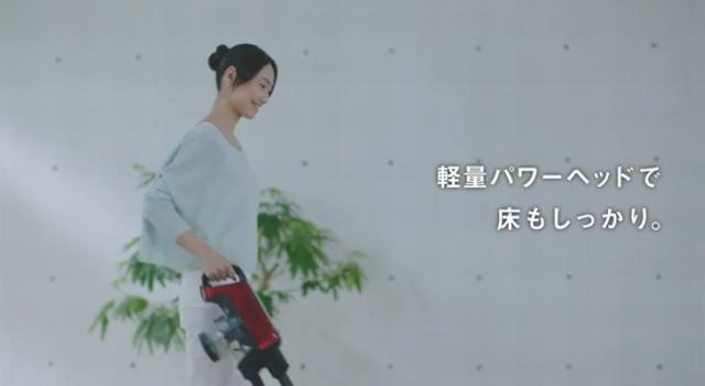 東芝 トルネオ V コードレス CM「トルネオ's eye」篇