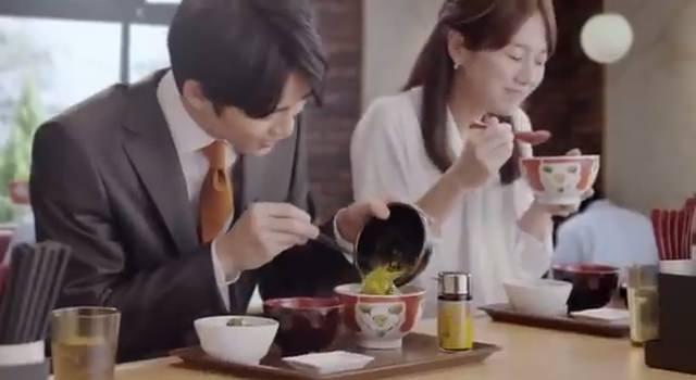 すき家CM「まぜのっけごはん朝食」編