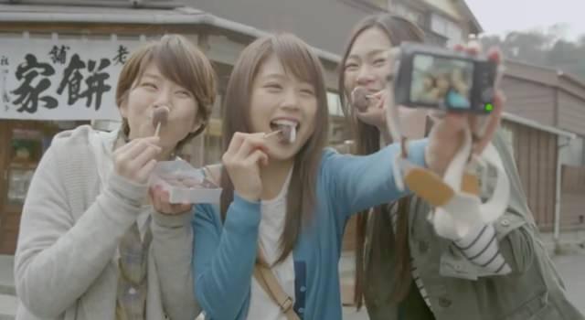 東芝 FlashAir CM「女子旅でシェア」篇