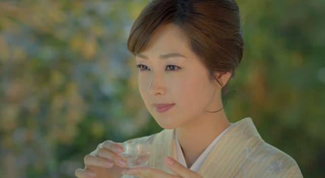 黄桜のCMの笛木優子