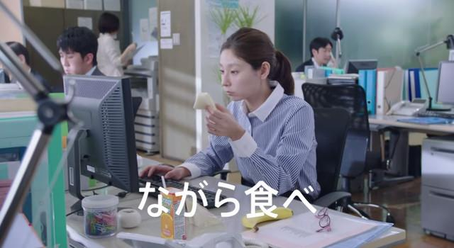 ロッテ キシリトール CM「ながら食べ」篇