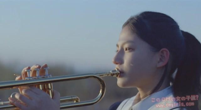 積水ハウス「吹奏楽部の少女」篇