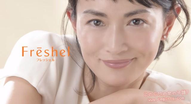 カネボウ Freshel(フレッシェル)「化粧水」篇、「誘導水」篇