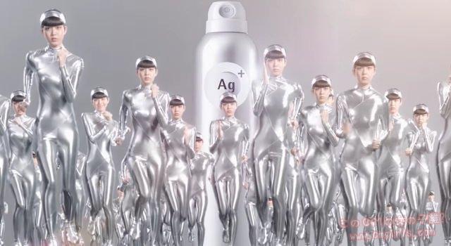 資生堂AG+「汗とりパット効果」篇