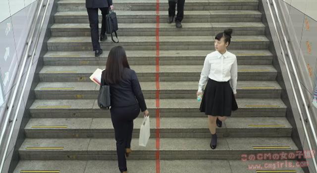 JR東日本ウォータービジネス acure From AQUA カチッとムービー「朝の駅でも編」