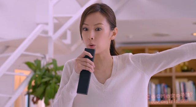 SONY ブラビア「私は、好きなコンテンツと暮らす。」北川景子編