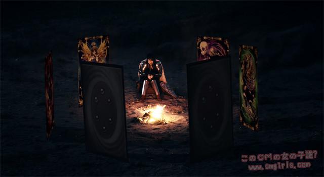 セガホールディングス チェインクロニクル ~絆の新大陸~ 「よくあるスマホRPG の場合 女性篇」