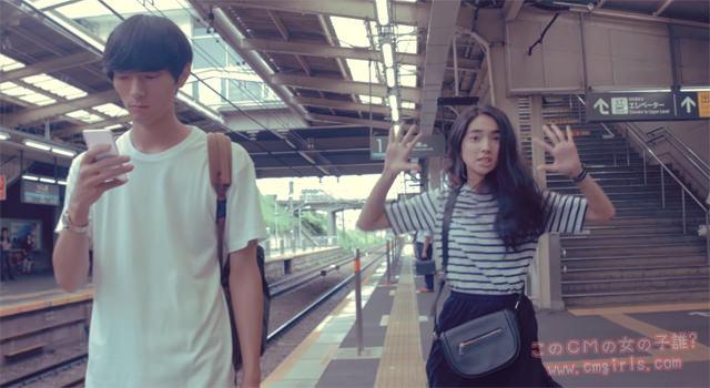 東急電鉄 マナー広告 わたしの東急線通学日記「歩きスマホ」篇