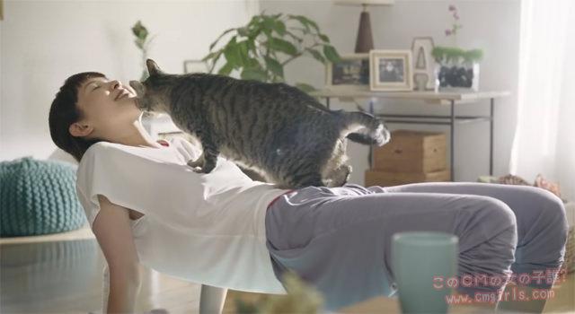 P&G IAMS(アイムス)「猫ヨガ」篇