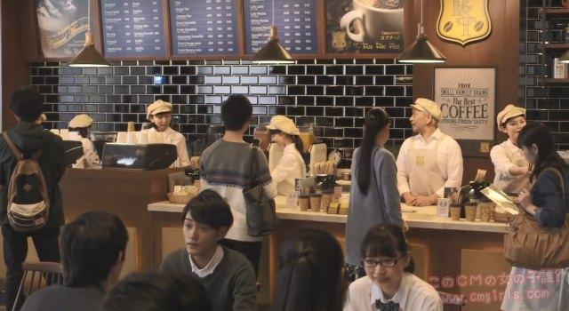 リクルート タウンワーク 「コーヒーショップ篇」
