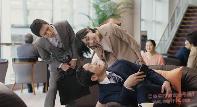 シノケン「チラ見篇(ホテルロビー)」