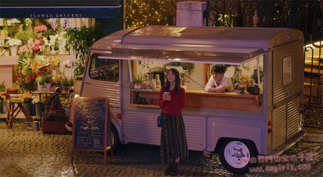 JCBカード「夜のカフェ篇」